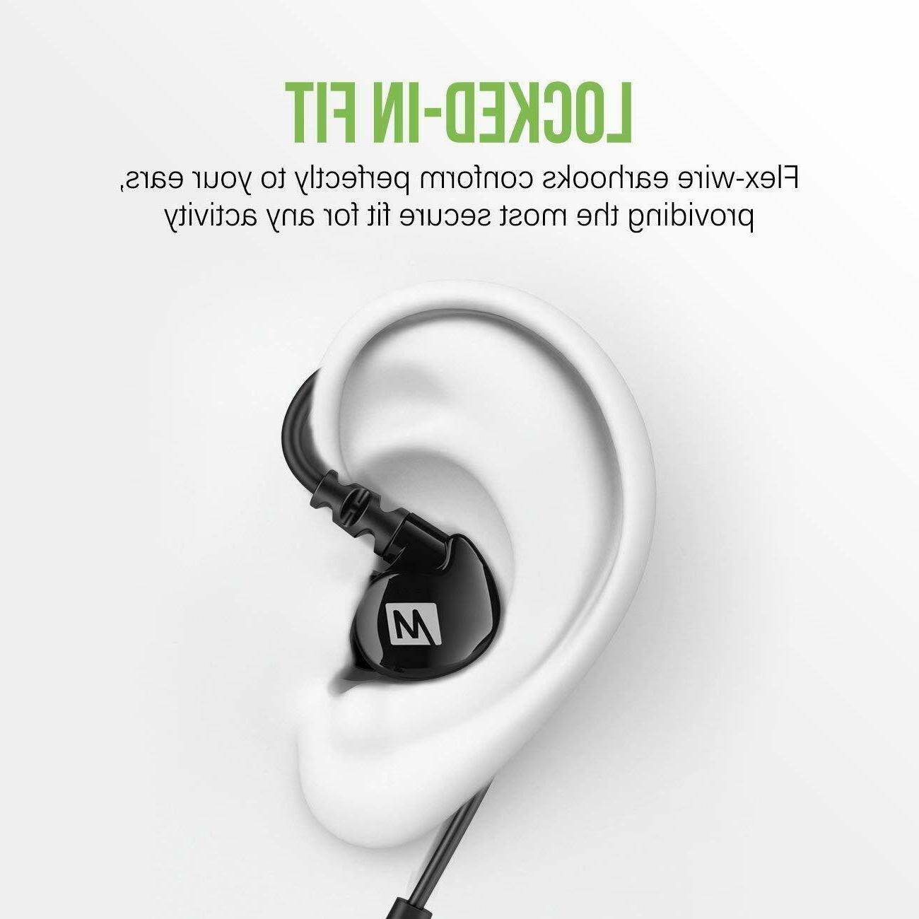 MEE Wireless Sports Headphones , Black EP-M6