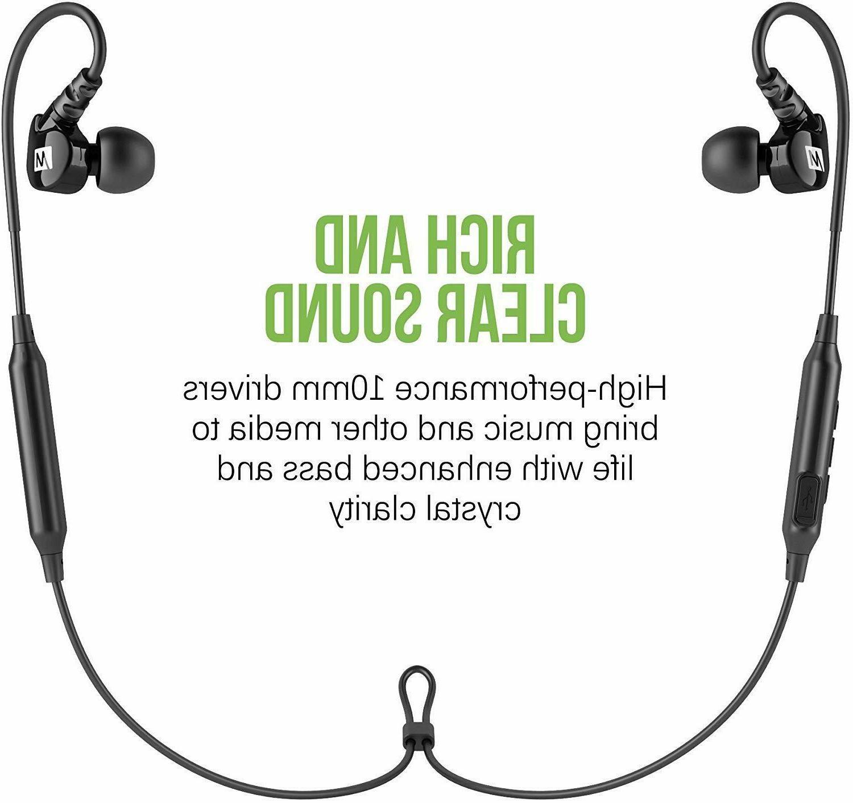 MEE Wireless In-Ear Headphones , Black EP-M6