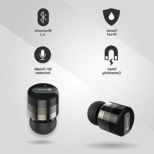 Rowkin Micro: True Wireless Headphones Smallest Mini Earphones & Android,