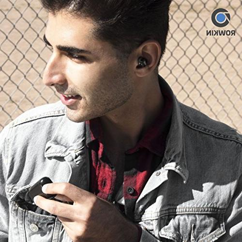 Rowkin Micro: Earbuds w/Charging Headphones Mini & Noise Android,