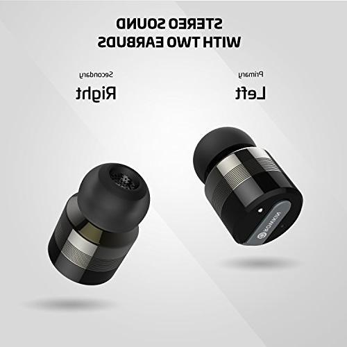 Rowkin Earbuds Headphones Smallest Cordless Mini Earphones & Android, & iPhone