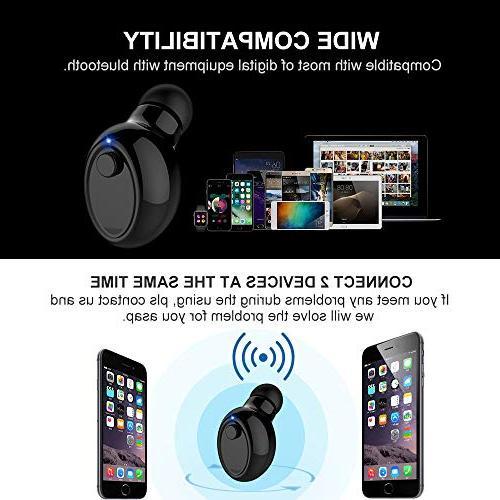 Smallest Wireless Bluetooth V4.1 Invisible Mini Mic for XS