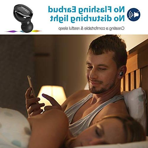 Mini Bluetooth Headphone, BESWILL V4.2 Smallest Invisible with Microphone, with V3.0 for X and
