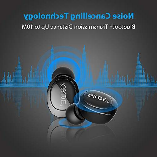 V4.2 Bluetooth Smallest Earphone with HD Microphone, with V3.0 V2.1 for X Samsung and