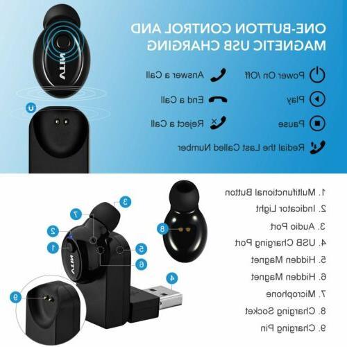 MPOW Bluetooth Headset In-Ear Headphone