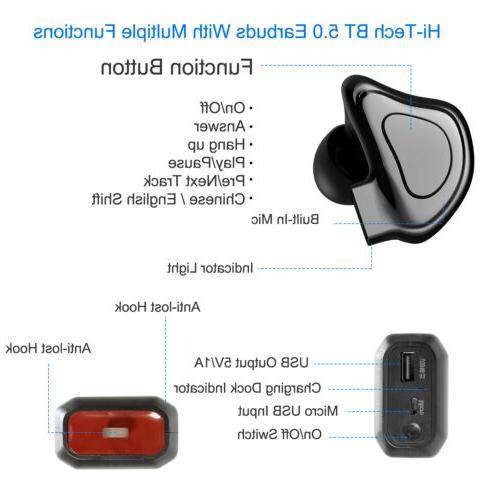 Mini Sport Wireless Bass Stereo In-Ear