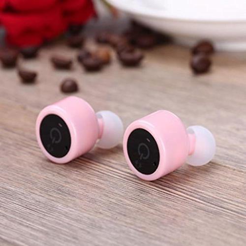 DZT1968 True Wireless Bluetooth Twins Stereo In-Ear Headset Earphone