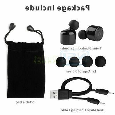 Mini Earphones Wireless Bass Stereo Headset