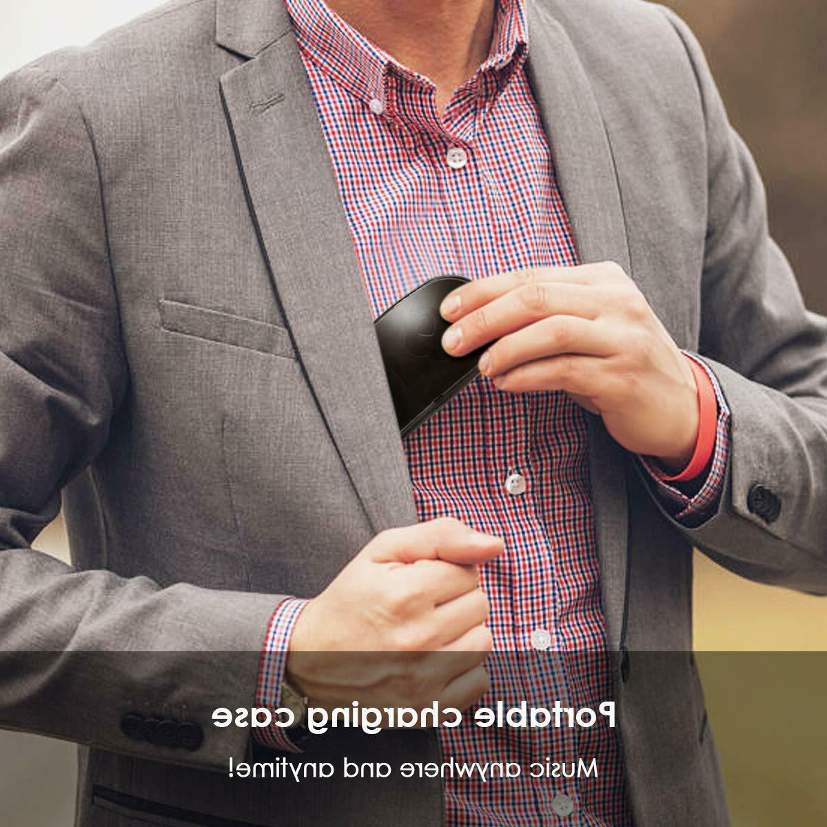 Bluetooth V5.0 Headphones Mic&Charging Box