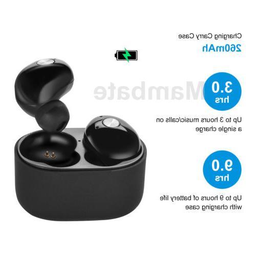 Mini True Wireless Earbuds Stereo Sports Headset