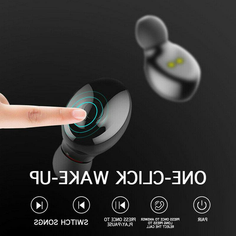 Twins Wireless Earbuds Stereo Headphones