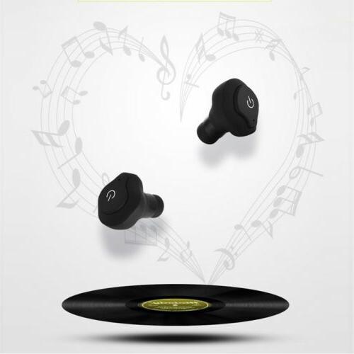Mini Wireless In-Ear Bluetooth Earphones Headset