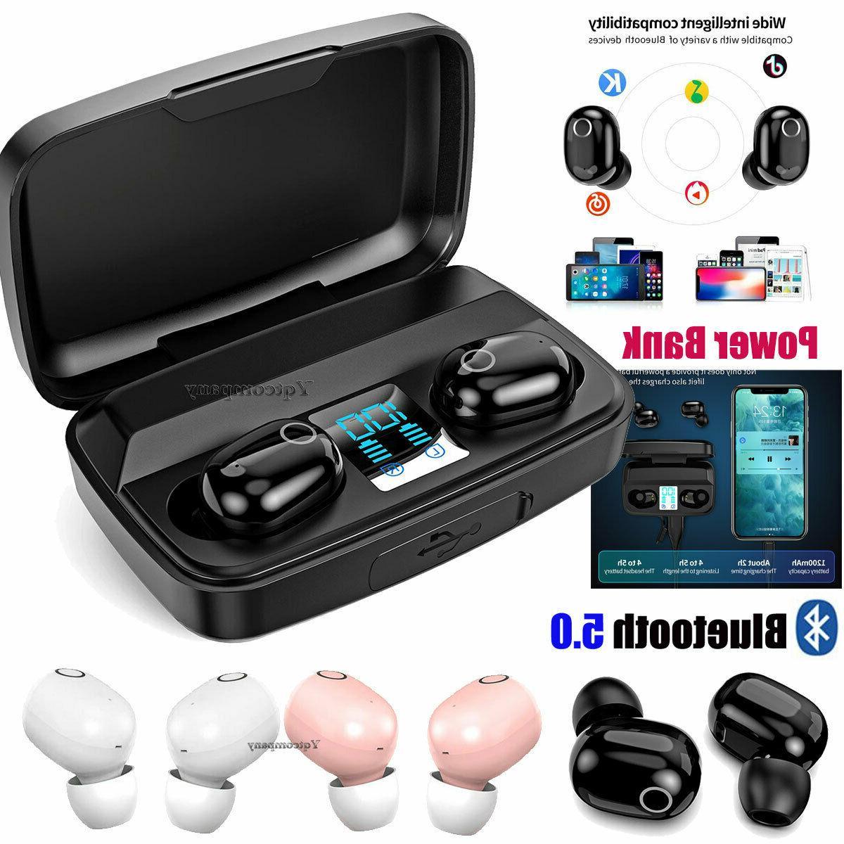 mini wireless bluetooth earbuds in ear earphones
