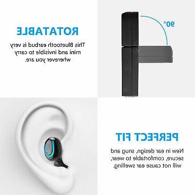 Mini Bluetooth Earbuds In-Ear Earphone w/