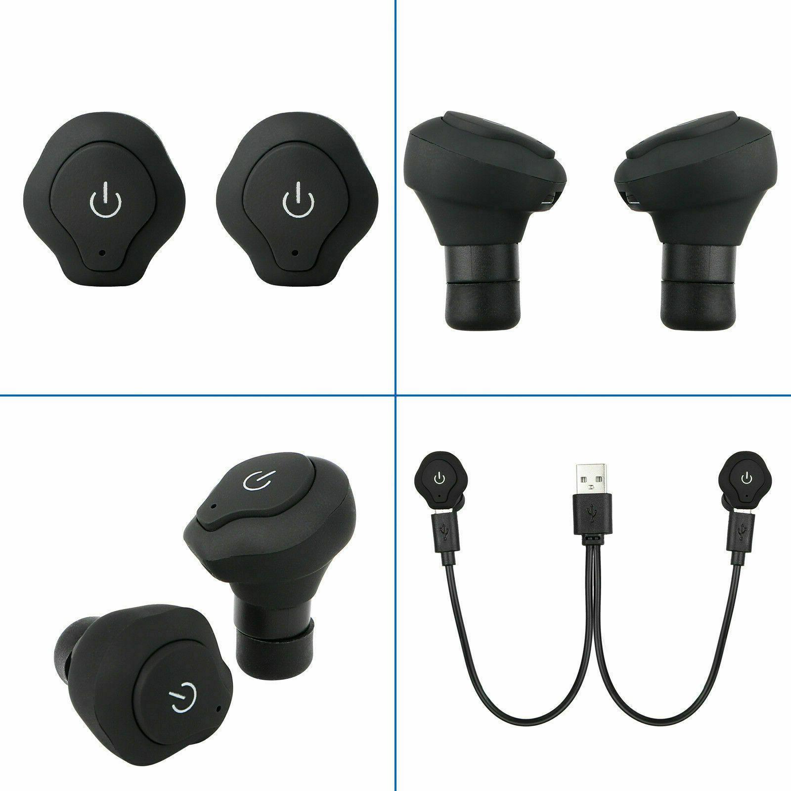Mini Earbuds In-Ear Stereo Earphones Sport Headset