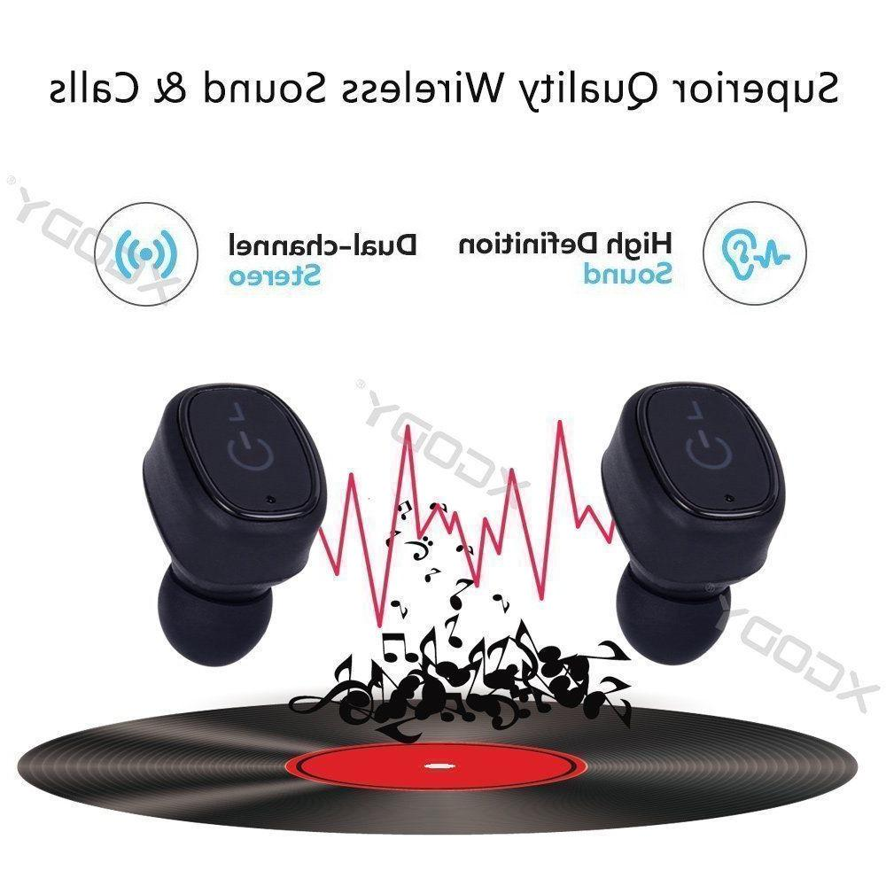 Mini Wireless Waterproof In-Ear Earphone