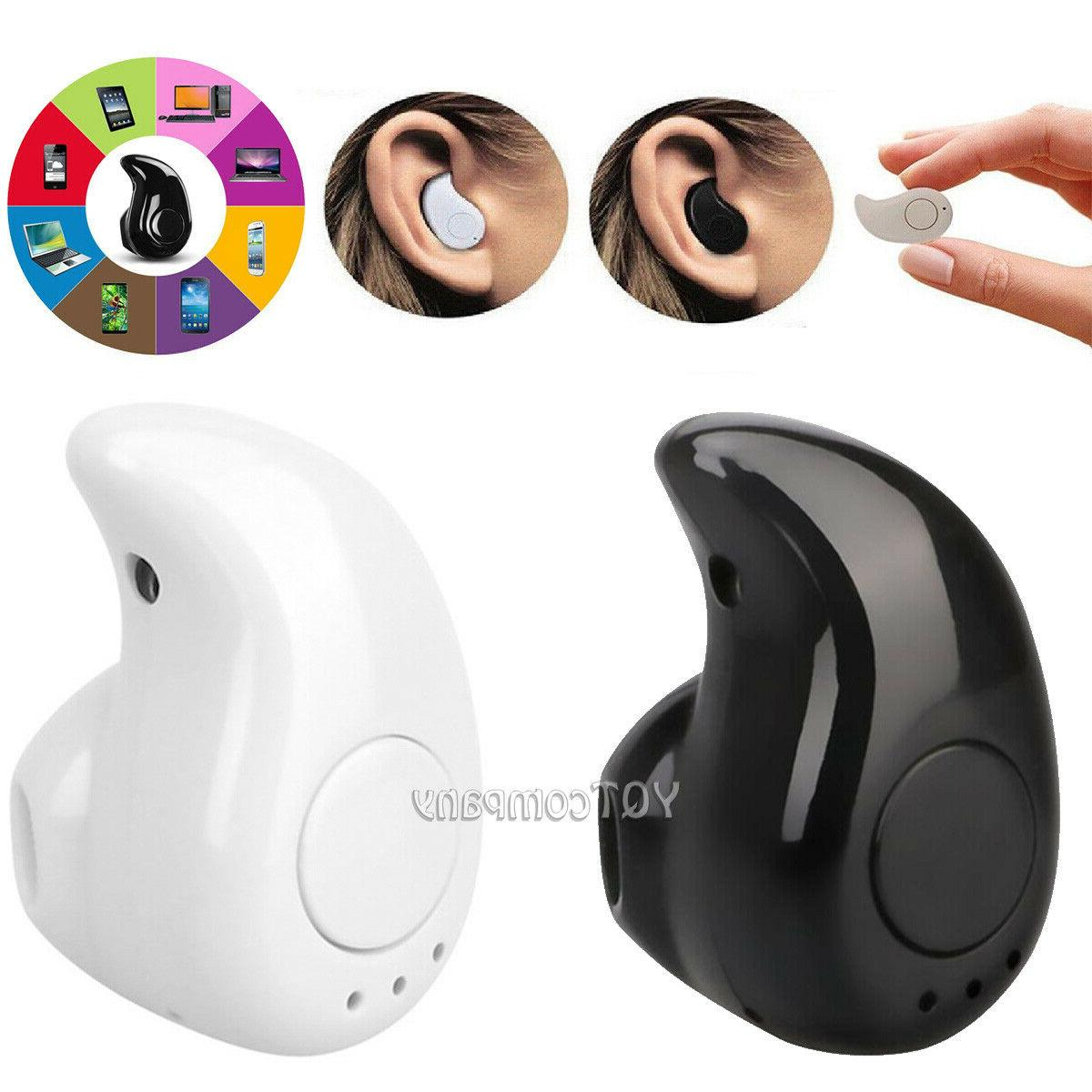 Mini Wireless Bluetooth Headset Earbuds In Ear For Samsung