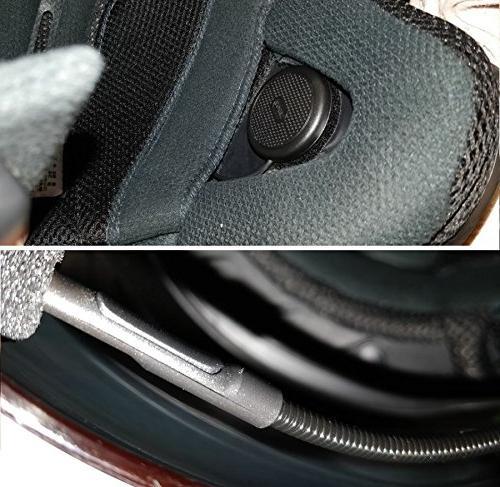 NikoMaku Helmet Headset for Helmets with Microphone for