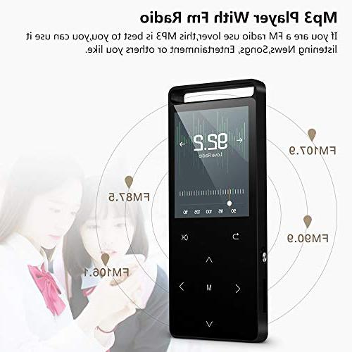 Grtdhx with Bluetooth,16GB with Lossless Sound Clock, Touch Sound Quality an