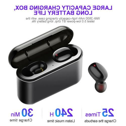 Wireless Bluetooth Earbuds HiFi Sound Noise Cancelling
