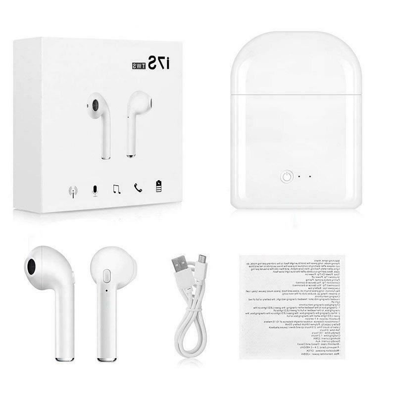 New Wireless i7s Ear with Box