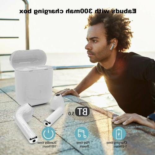 i7s i9s TWS For iPhone Bluetooth 5.0 Earbuds w/ Earphones