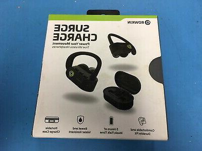 new surge true wireless bluetooth headphones earbuds