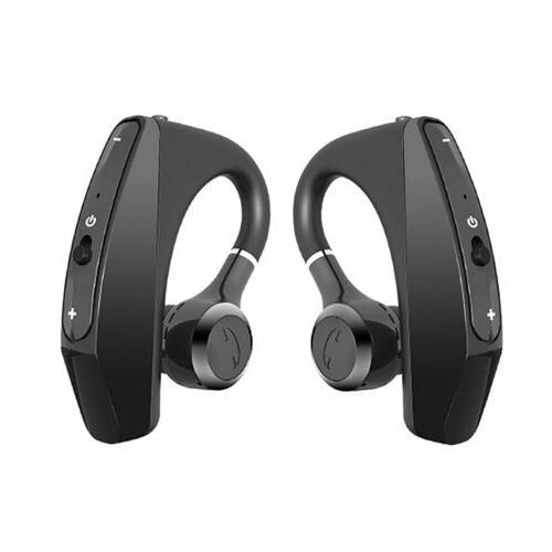 NEW Wireless Bluetooth 5.0 Earphones Stereo Bass Ear Hook