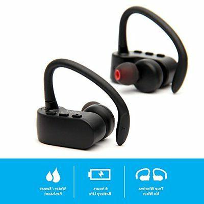 nmotion wireless bluetooth earbuds