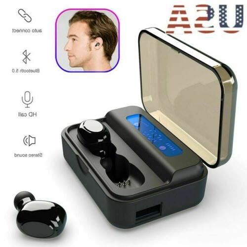 noise cancelling wireless tws bluetooth earphones stereo