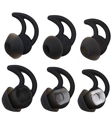 REPLACEMENT EARTIPS STAYHEAR EARBUDS EARPHONES FOR BOSE QUIET COMFORT QC20 QC20i