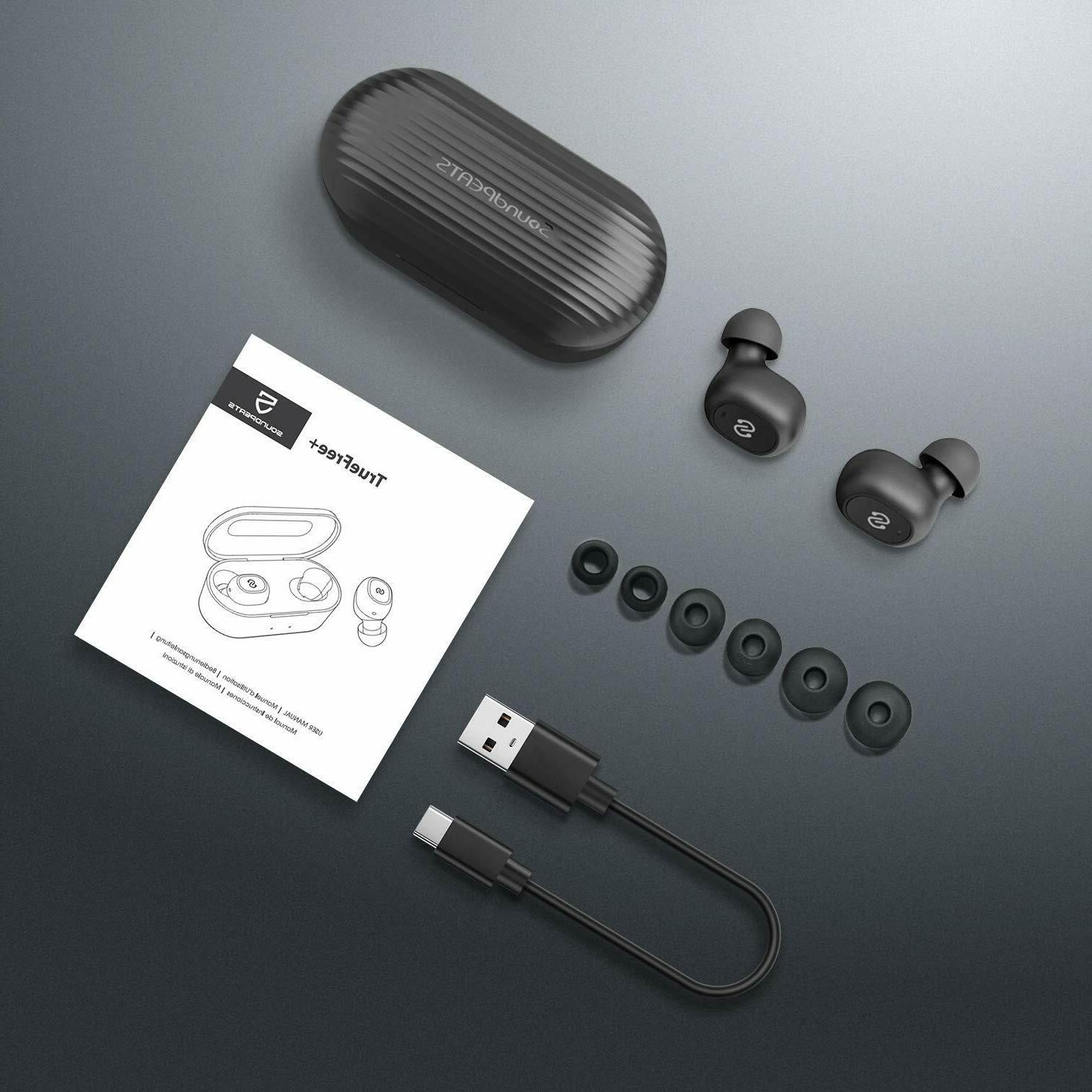SoundPEATS Wireless Bluetooth 5.0 TWS Mini