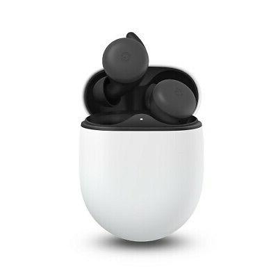 pixel buds almost black wireless earbuds