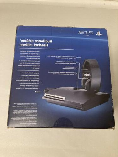 Sony PS3 Wireless Headset 7.1 Box