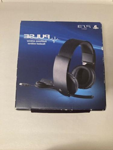 playstation ps3 pulse wireless headset elite edition