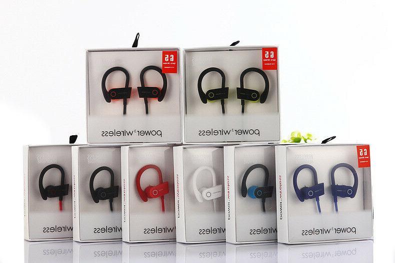 power 3 wireless g5 bluetooth headphones running