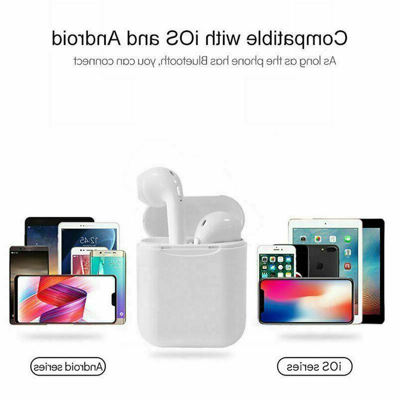 Wireless Bluetooth Compatible With Apple AirPods