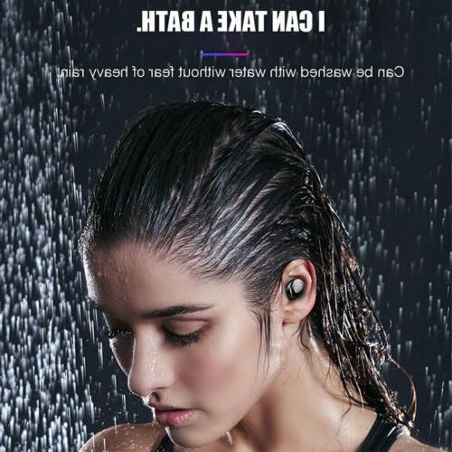 Premium Grade TWS Wireless Headphones 5.0 with Charging Case