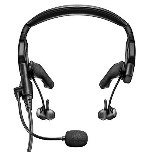 proflight aviation headset with 6 pin plug
