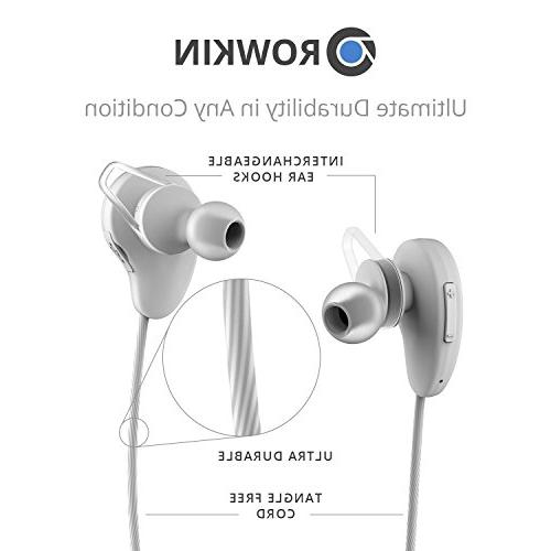 Rowkin Pulse Headphones, Bluetooth Earbuds, Stereo Hands-free Headset & Noise Reduction for Running, Samsung, and iPhone.