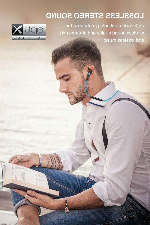 SoundPEATS Q12 Bluetooth 4.1 Wireless Headphones BLUE
