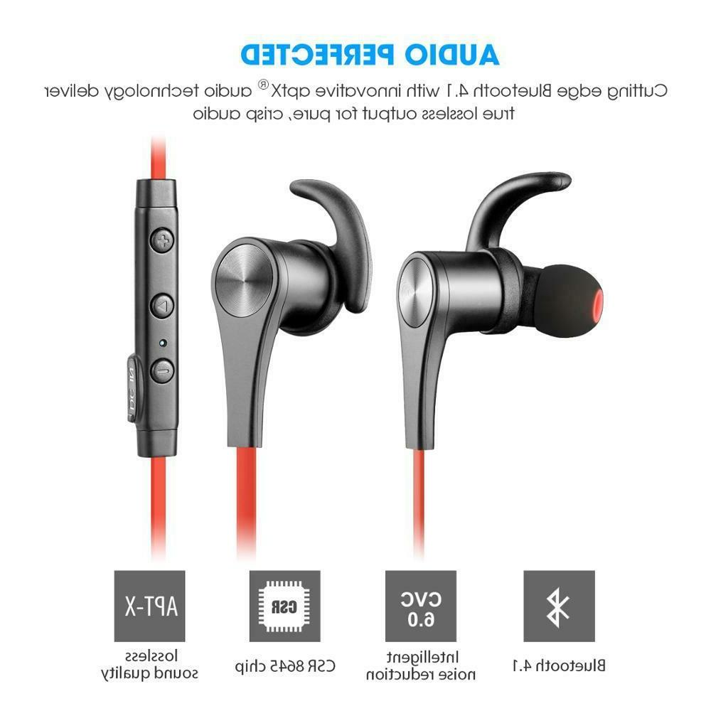 Wireless Earphones Headphones BLUE