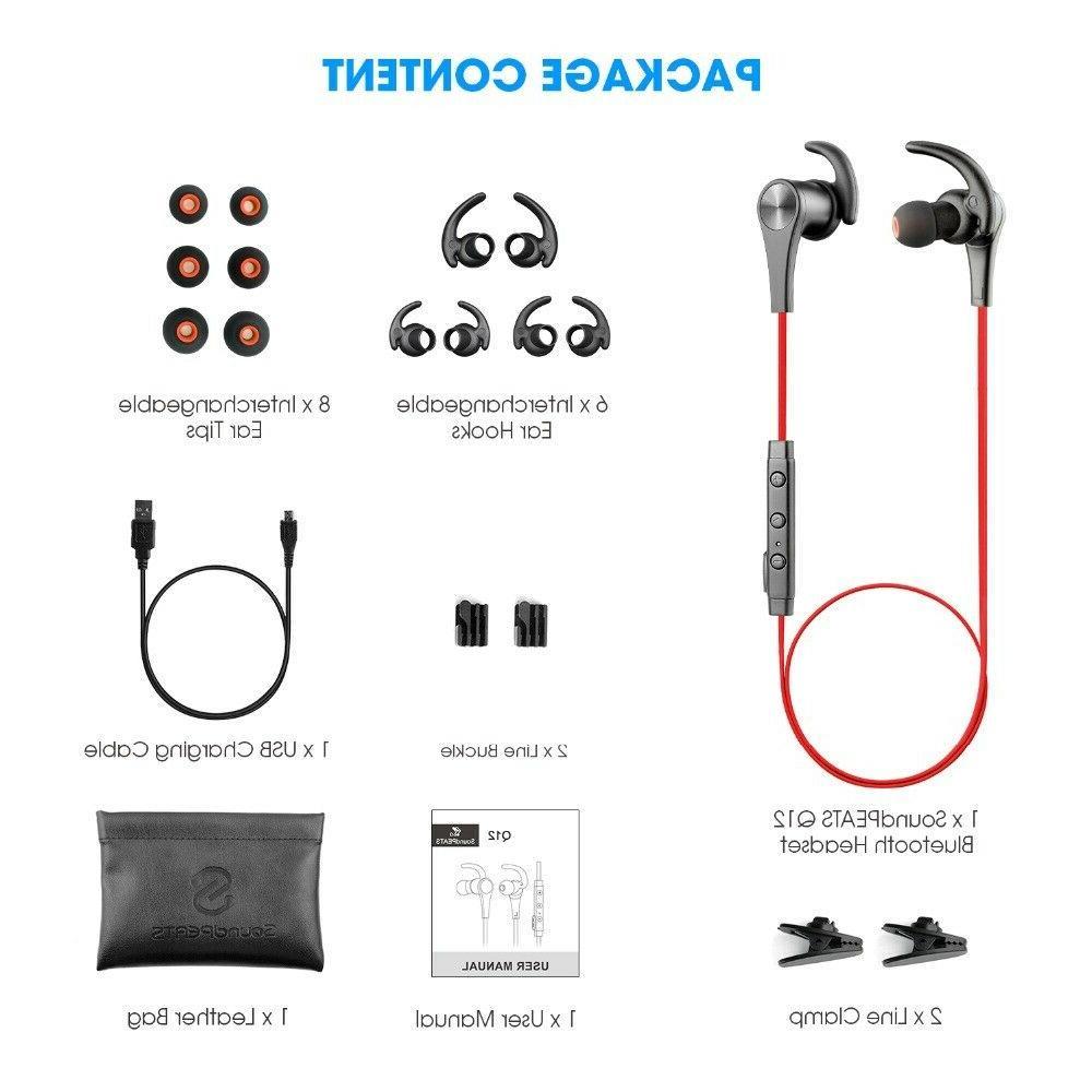 SoundPEATS Wireless Earphones in-Ear Earbuds Headphones