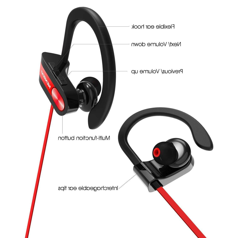 Wireless w/Mic, Bluetooth Headphones