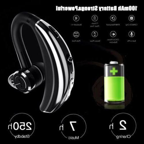 MPOW Handsfree Wireless Earpiece Reduction Mic Earbud