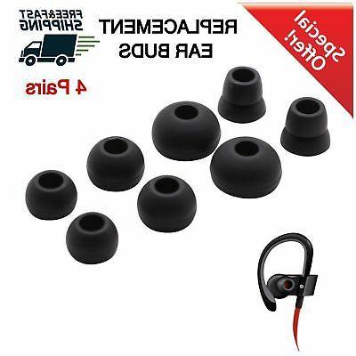 Replacement Wireless Ear Buds Powerbeats 2 3 Eartips 4Pair S