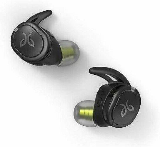 run xt black wireless sport headphones in
