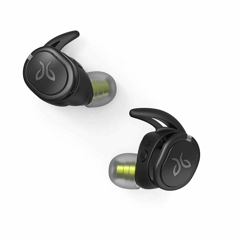 run xt true wireless headphones black