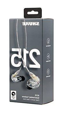 Shure Sound Earphones with Dynamic MicroDriver