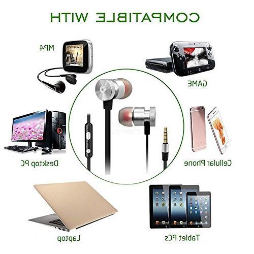 BargainPort Universal 3.5mm Audio Super Noise Earphone Volume Lenovo 2 A10-70